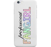 Professional Fangirl Pastel Rainbow Statement T-Shirt Case  iPhone Case/Skin