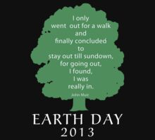 Earth Day 2013 John Muir Kids Tee
