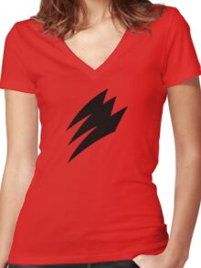 Jungle Fury! Women's Fitted V-Neck T-Shirt