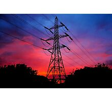 Electricity in the air tonight Photographic Print