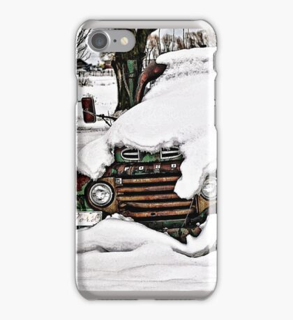 The Rusted Christmas Truck iPhone Case/Skin