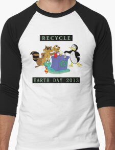 Earth Day 2013 Recycle Men's Baseball ¾ T-Shirt
