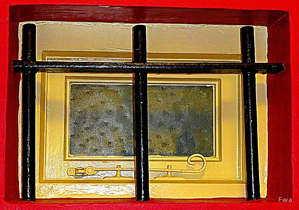 The Tiny Barred Window by Fara