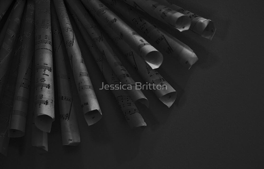 Notes by Jessica Britton
