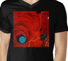Potentiality of the Inanimate - mixed media and digital Mens V-Neck T-Shirt