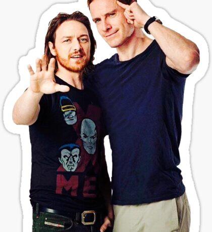 James and Michael Sticker Sticker