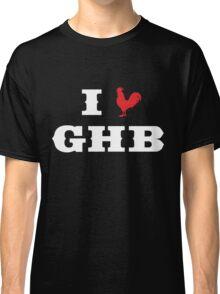 I Heart GHB Reversed Classic T-Shirt
