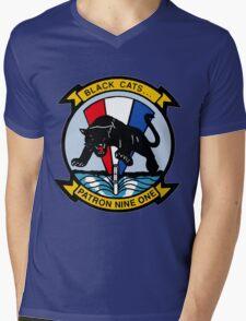 VP-91 Black Cats Mens V-Neck T-Shirt