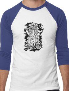 INK-TER-MIN-ATE! Men's Baseball ¾ T-Shirt