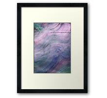 PASSION WITH PINK Framed Print