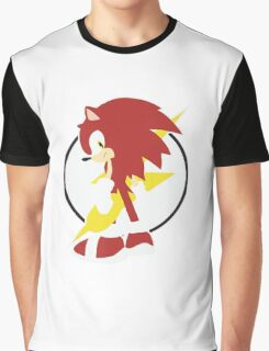 Anthropomorphic Hedgehog Graphic T-Shirt