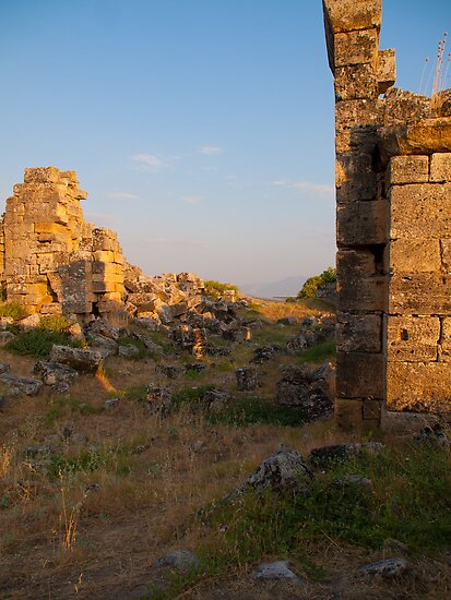 The remains of the Roman Kingdom, the city of Ephesus, Turkey. by Kirk D. Belmont Photography