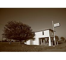 Route 66 - Lucille's Gas Station Photographic Print