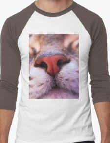 Sleeping cat Men's Baseball ¾ T-Shirt