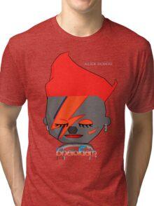 Bhaloidam Homage to Aladdin Sane Tri-blend T-Shirt