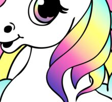 Can U Not - Pastel Goth Unicorn Sticker