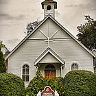 The Only Church in Town by Lesliebc