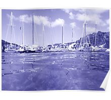West Indies Regatta Raft Up - colorless Poster