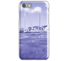West Indies Regatta Raft Up - colorless iPhone Case/Skin