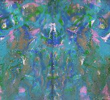 PINK INVASION ON BLUE by karen66