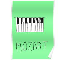 mozart poster  Poster
