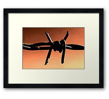 Hot wire Framed Print