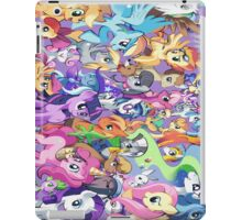 ponies (nuff said) iPad Case/Skin