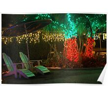 Holiday lounging in the tropics Poster