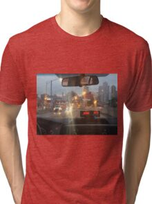 Taxi to NYC Tri-blend T-Shirt