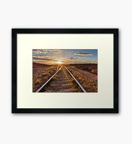 South Australia Sunset Framed Print