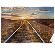 South Australia Sunset Poster