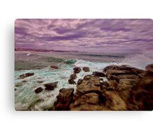 Turbulent Manly Shore Canvas Print