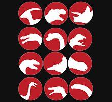Dinosaur bubbles Unisex T-Shirt