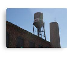Marathon Village Water Tower Metal Print