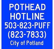 Pothead Hotline No. 6 by yeahnoyeah