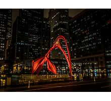 Picasso at Night Photographic Print