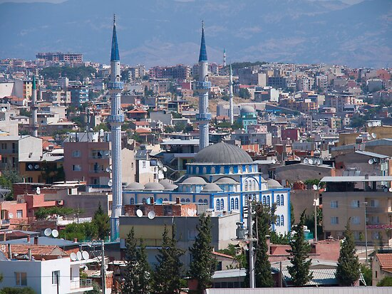 Old Mosque small town, Turkey by Kirk D. Belmont Photography