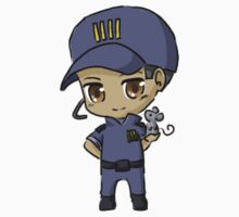 Mass Effect 3 Chibi Zodiac - David Anderson by chocominto