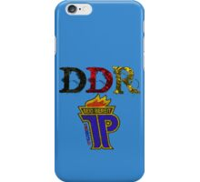 DDR - JP Emblem (black-red-gold) iPhone Case/Skin