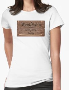 SamWise Landscaping & Supply Womens Fitted T-Shirt
