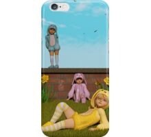 Waiting For Easter iPhone Case/Skin