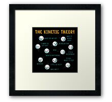 The Kinetic Theory Framed Print