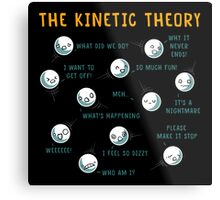 The Kinetic Theory Metal Print