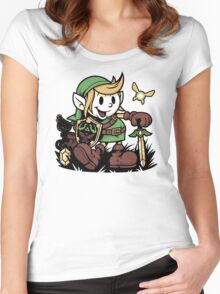 Vintage Link Women's Fitted Scoop T-Shirt