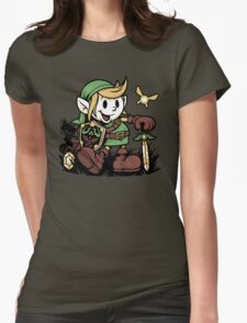 Vintage Link Womens Fitted T-Shirt