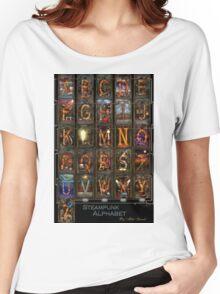Steampunk - Alphabet - Complete Alphabet Women's Relaxed Fit T-Shirt