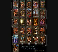 Steampunk - Alphabet - Complete Alphabet Unisex T-Shirt