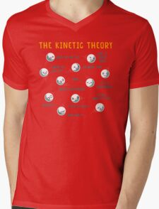 The Kinetic Theory Mens V-Neck T-Shirt