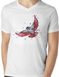 The Bird Mens V-Neck T-Shirt