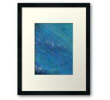SLEEPY BLUES Framed Print